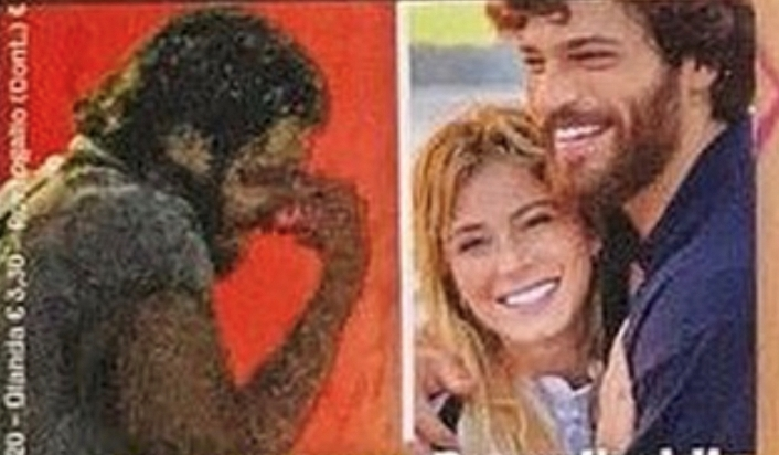 Can Yaman in lacrime